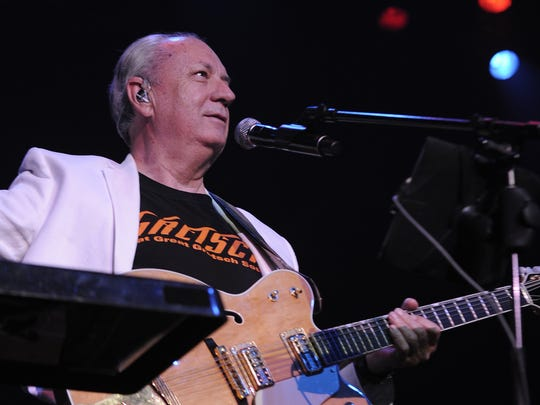 Michael Nesmith of The Monkees performs at the Ryman on July 24, 2013.