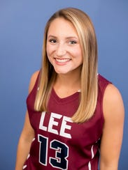 Powell High graduate Tori Lentz, now playing basketball