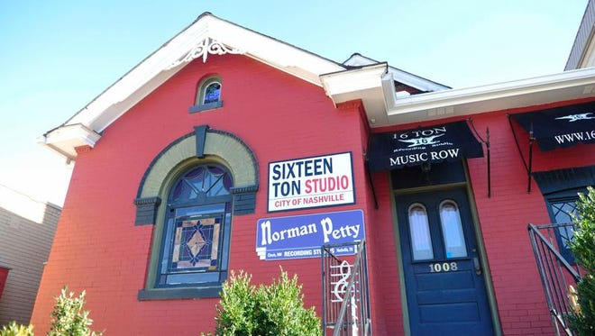 Sixteen Ton Recording Studios on Music Row is closing its doors.