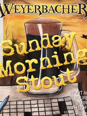 Sunday Morning Stout is an American imperial stout with 12.1 percent alcohol by volume. It has flavor notes of chocolate, vanilla and caramel.