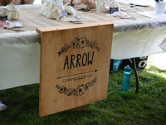 Arrow Cosmetics - run by Nicole Anderson, Maria Paula