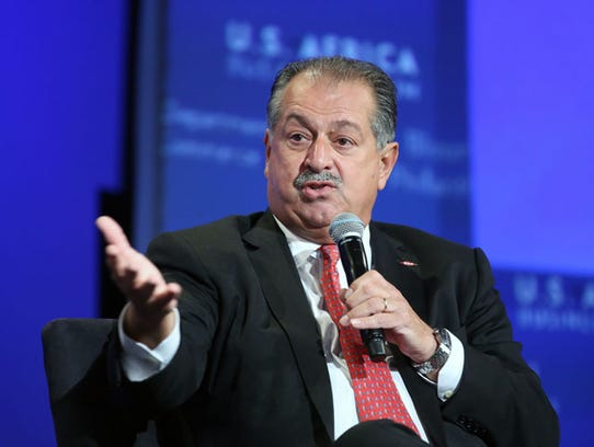 Andrew N. Liveris, Dow's chairman and chief executive
