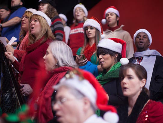 Music is part of the annual Deck the Halls event at
