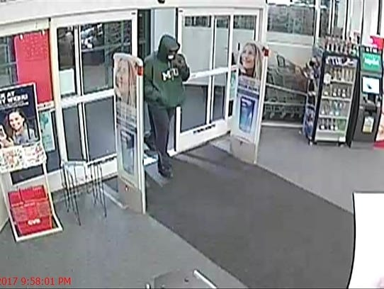 Police Seek Suspect In Cvs Armed Robbery In Plymouth Township