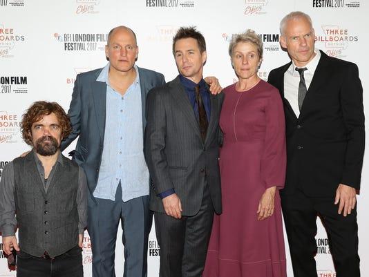 """Three Billboards Outside Ebbing, Missouri"" UK Premiere & Closing Night Gala - 61st BFI London Film Festival"