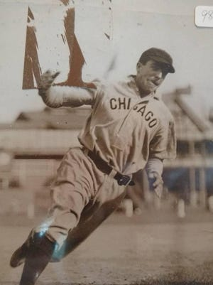 Joe Tinker was a member of the Chicago Cubs dynasty that won four pennants and two World Series championships between 1906 and 1910.