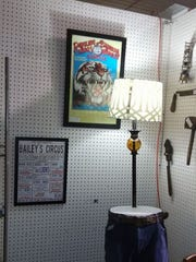 Rudy Law's booth at Off-Broadway Antique Mall.