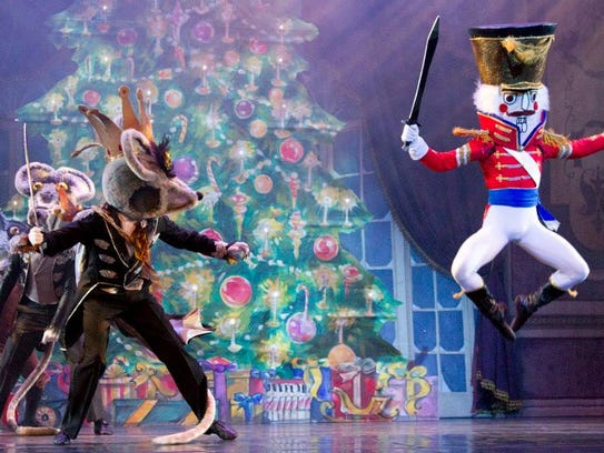 "American Repertory Ballet's ""The Nutcracker"" returns this weekend to the State Theatre in New Brunswick."