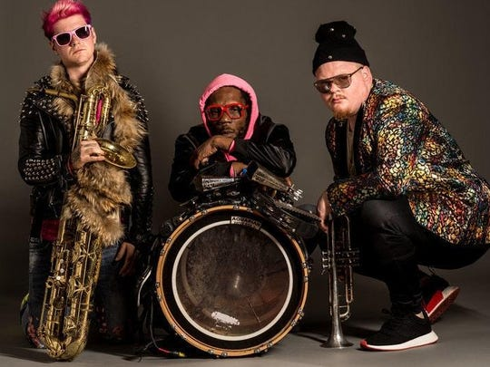 Too Many Zooz will perform Wednesday at the Haunt.
