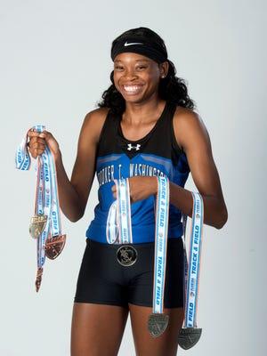 Tytavia Hardy-Washington High School Track