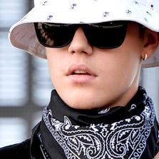 Singer Justin Bieber.