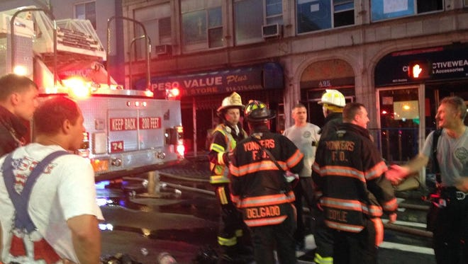 The Peso Value Plus store at 495 South Broadway in Yonkers suffered heavy losses in an overnight fire first reported around 2:45 a.m. Friday, July 10, 2015.