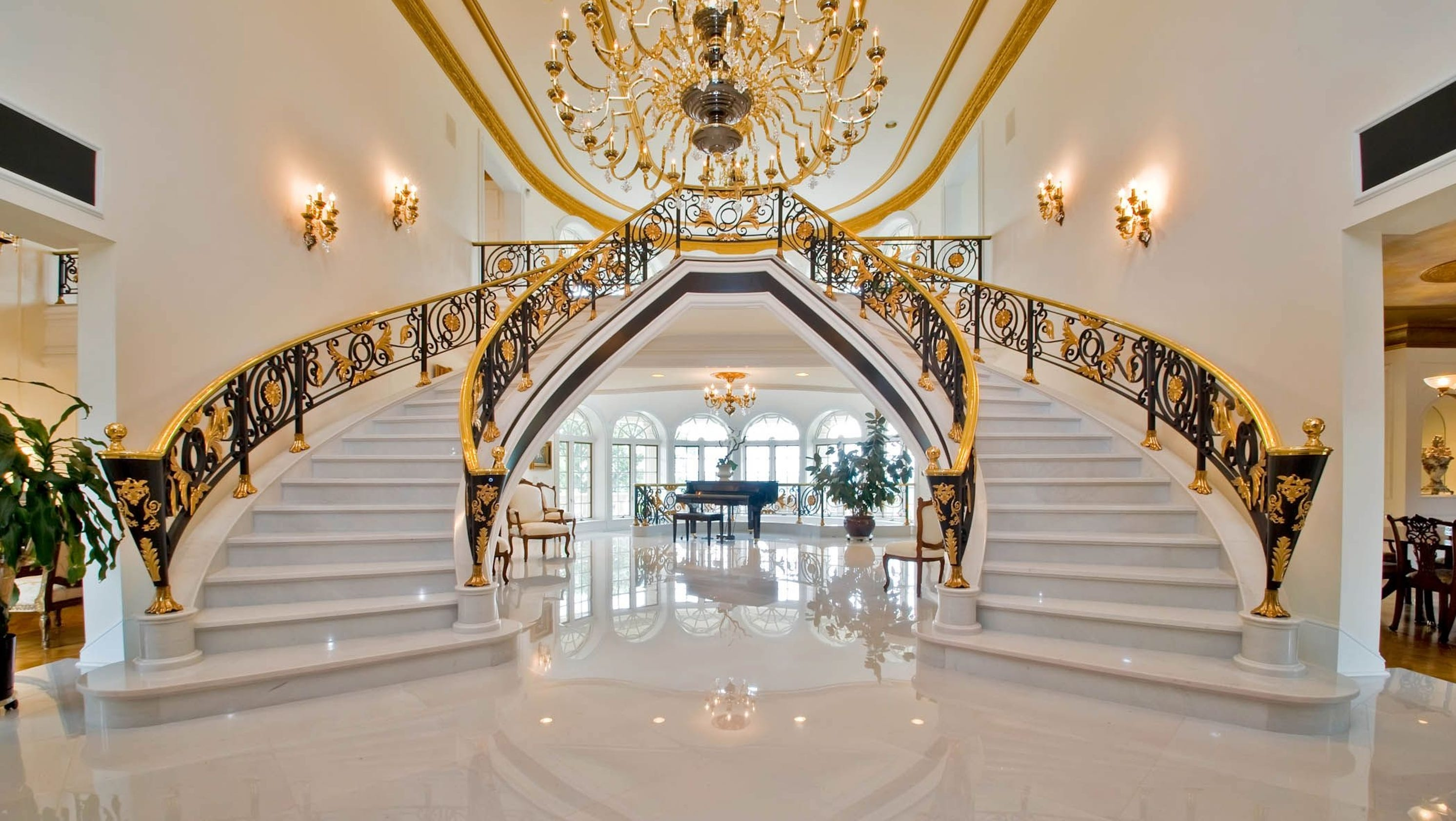 Mansion Foyer Email : Exclusive tour the nj mansion that sold for record