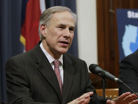 Texas Gov. Greg Abbott is leading a group of states