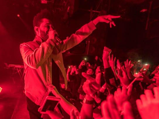 The Weeknd, Firefly Music Festival's lead headliner,