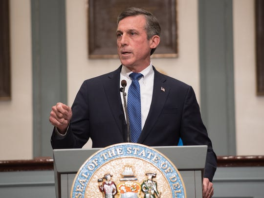 Gov. John Carney wants lawmakers to approve an increase