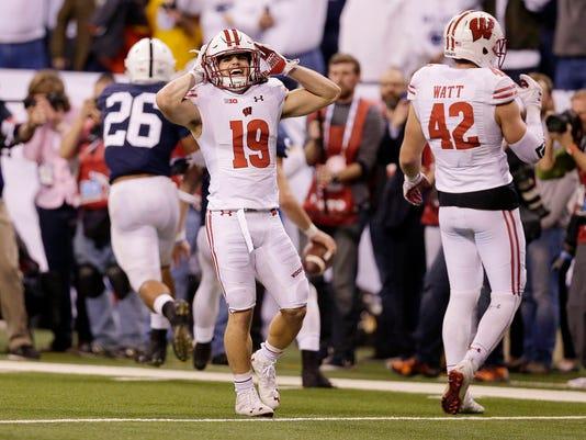 NCAA Football: Big Ten Championship-Wisconsin vs Penn State