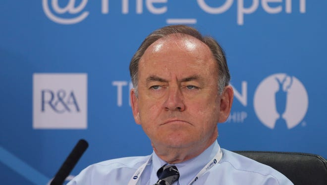 Royal and Ancient Golf Club's Chief Executive Peter Dawson.