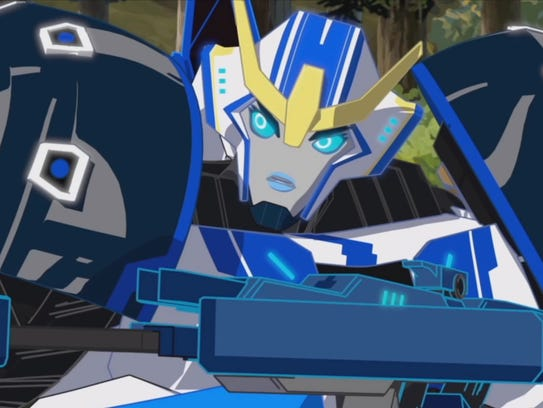 Strongarm (voiced by Constance Zimmer) is a new face