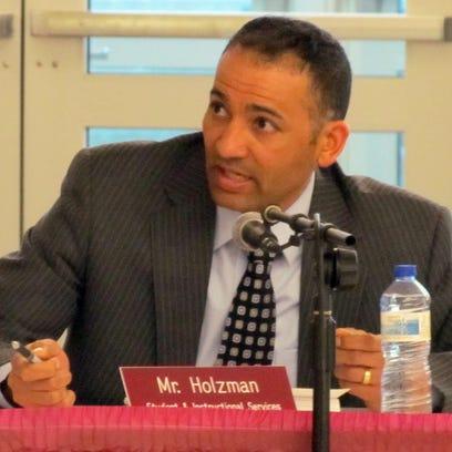 Mark Holzman, the current assistant superintendent