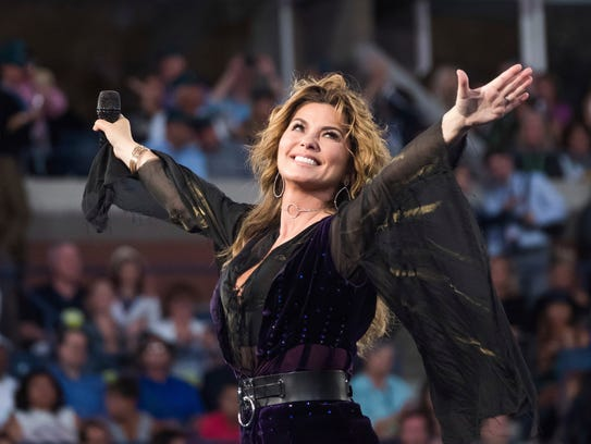 Shania Twain hits the road for her NOW tour this spring and summer.