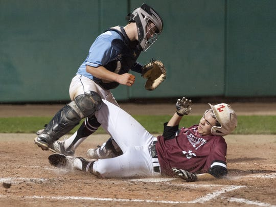 Mt. Whitney's Jordan Rojas, right, and the Pioneers