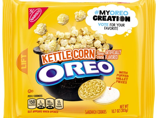 Kettle Corn Oreos.