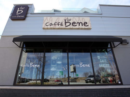 Caffe Bene opened in November 2014 in Farmers Park. The chain is more than coffee, says owner Alice Oh.