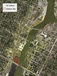 Green Bay's Downtown Tax Incremental Financing District,