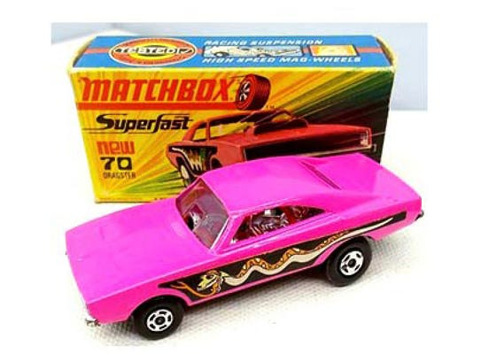Dodge Dragster by Matchbox was released in 1971. Based
