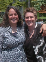 Owners of the Flying Pig Robyn Mulhaney and Susan Connor