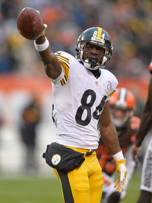 """Pittsburgh Steelers wide receiver Antonio Brown wants to be a """"Steeler for life."""""""