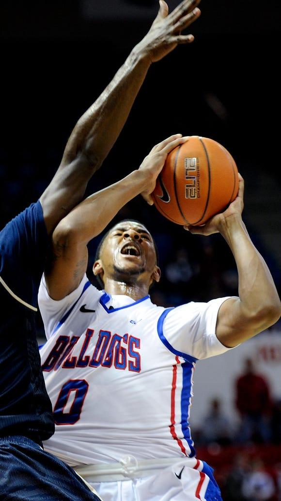 Louisiana Tech junior guard Alex Hamilton scored a