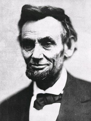 This is one of the last pictures of Abraham Lincoln taken before his assassination.