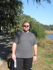 Pictured here on a 2006 trip to Savannah, Ga., Justin Brown has lost nearly 40 pounds since getting back on program with Weight Watchers and nearly 70 pounds total. His journey is featured in the May/June issue of Weight Watchers magazine.