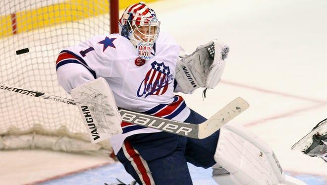 Amerks goalie Andrey Makarov hasn't been as sharp in recent games as he was in October.