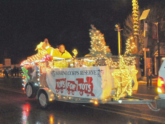 Toys for Tots again will bring a float to collect toys