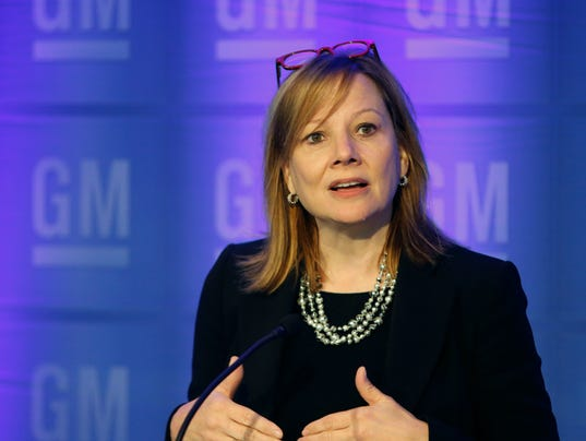 Mary Barra Gm Working In Secret To Lead In Self Driving Cars