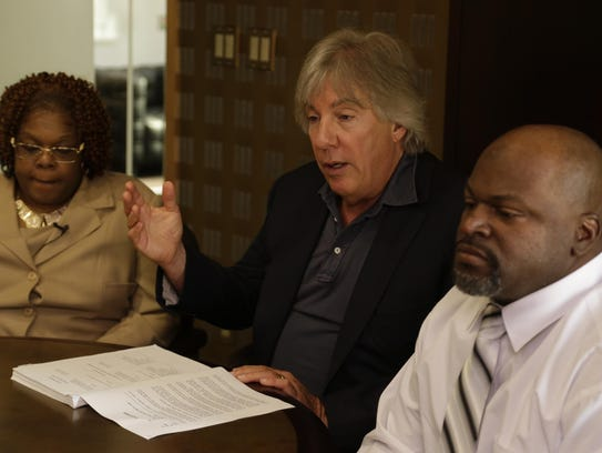 Lawyer Geoffrey Fieger with Tamara Nichols and her