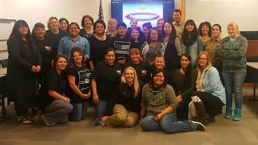 On Nov. 8, 27 women graduated from the San Juan County Sheriff's Office's 22nd Women Against Crime class. Over three months, the women received education and training aimed at increasing their personal safety and awareness, according to the program's new director Jayme Harcrow. The 12-week, 14-course program covers topics including sexual assault and domestic violence, technology crimes, home security, self-defense, drug awareness, firearms and active shooter training. The free program is funded by the San Juan County Sheriff's Office Foundation Board. The class, which is limited to 30 women, is full for the spring program. Classes usually meet Tuesday evenings at the sheriff's office, with two Saturday morning classes. To enroll in the fall or to be placed on a waitlist, contact Jayme Harcrow at harcrowj@sjcounty.net or 505-334-7027.