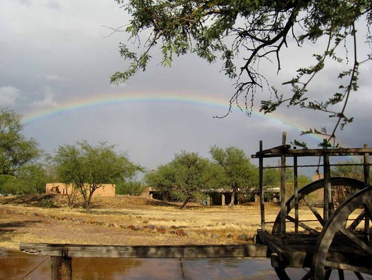 Tubac Presidio State Historic Park was designated Arizona's