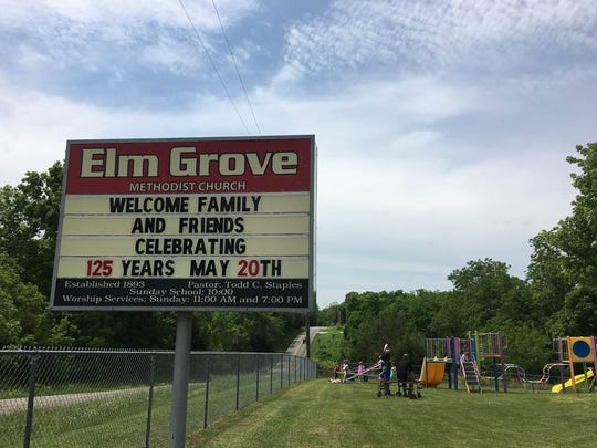 Elm Grove Church in Rogersville hosted an overflow
