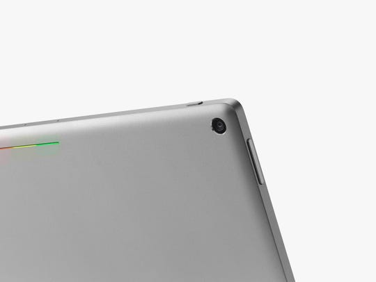 A more detailed look at the back of Pixel C