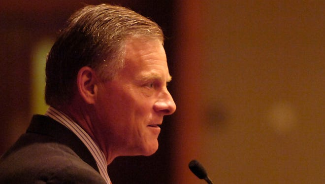 Sen. Richard Burr, R-North Carolina, in 2009