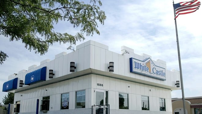 A White Castle restaurant in Columbus