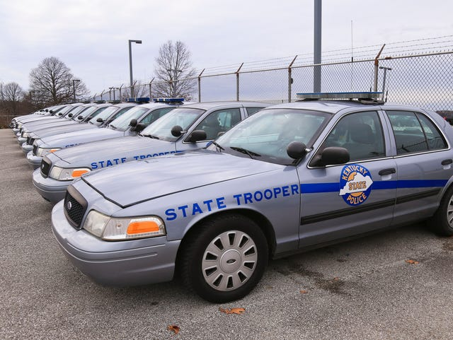 Kentucky State Police ask for better cars, guns and more troopers