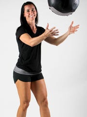 Anytime Fitness co-owner Cordula Reichardt stays fit