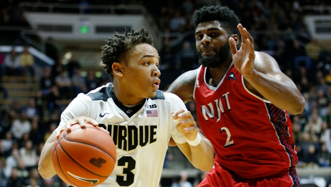 Purdue basketball puts pressure problems in past