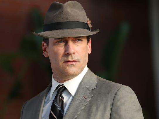 Jon Hamm as Don Draper - Mad Men _ Season 7, Episode 1 - Photo Credit: Michael Yarish/AMC [Via MerlinFTP Drop]