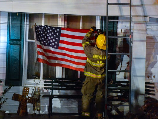 Firefighters save Lower Chanceford home